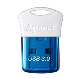 Флаш памети Apacer 64GB Super-mini Flash Drive AH157 Blue - USB 3.0 interface