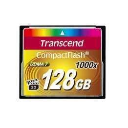 Флаш памети Transcend 128GB CF Card (1000x)