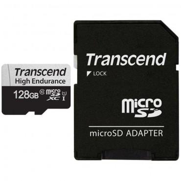 Флаш памети Transcend 128GB microSD w/ adapter U1