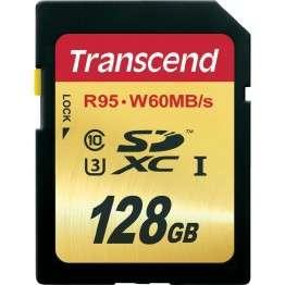 Флаш памети Transcend 128GB SDXC UHS-I U3 Card