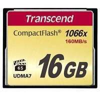 Флаш памети Transcend 16GB CF Card (1066x)