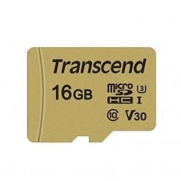 Флаш памети Transcend 16GB microSD UHS-I U3 (with adapter)