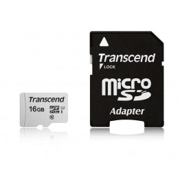 Флаш памети Transcend 16GB UHS-I U1 microSD with Adapter