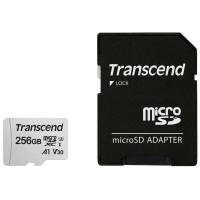 Флаш памети Transcend 256GB microSD UHS-I U1 (with adapter)