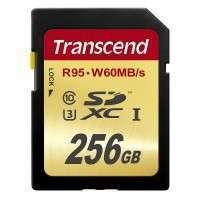 Флаш памети Transcend 256GB SDXC UHS-I U3 Card