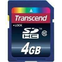 Флаш памети Transcend 4GB SDHC (Class 10)