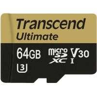 Флаш памети Transcend 64GB microSDXC UHS-I U3M