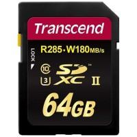 Флаш памети Transcend 64GB SDXC Class3 UHS-II Card