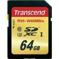 Флаш памети Transcend 64GB SDXC UHS-I U3 Card