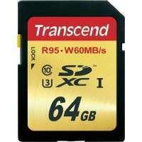 Флаш памети Transcend 64GB SDXC UHS-I U3 Card