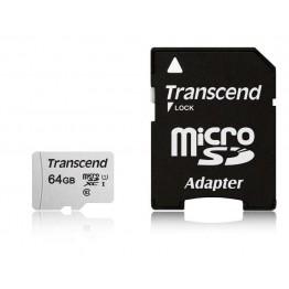 Флаш памети Transcend 64GB UHS-I U1 microSD with Adapter