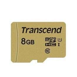 Флаш памети Transcend 8GB microSD UHS-I U3 (with adapter)
