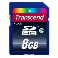 Флаш памети Transcend 8GB SDHC (Class 10)