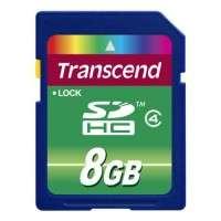 Флаш памети Transcend 8GB SDHC (Class 4)