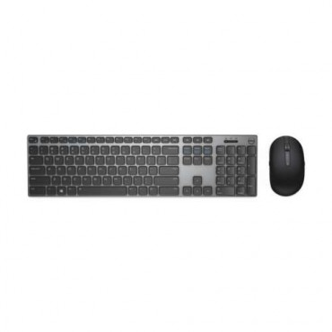 Клавиатура Dell KM717 Premier Wireless Keyboard and Mouse, Black/Grey