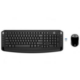Клавиатура HP Wireless Keyboard & Mouse 300 EURO