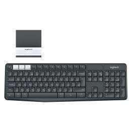 Клавиатура Logitech K375s Multi-Device Wireless Keyboard and Stand Combo