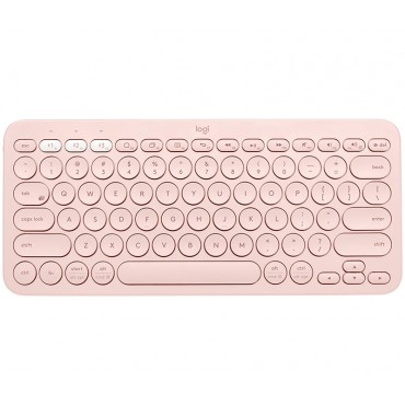 Клавиатура Logitech K380 Multi-Device Bluetooth Keyboard - UK English (Qwerty) - Rose