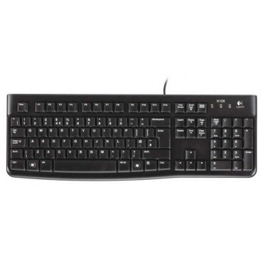 Клавиатура Logitech Keyboard K120 OEM , Black