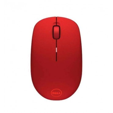 Мишка Dell WM126 Wireless Mouse Red