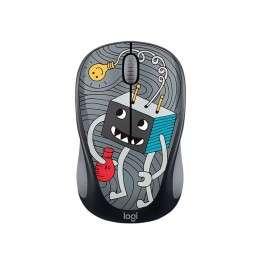 Мишка Logitech Doodle Collection - M238 Wireless Mouse - LIGHTBULB