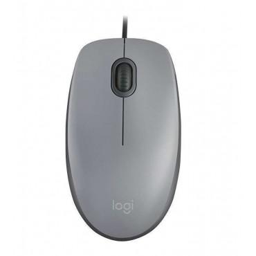 Мишка Logitech M110 Silent - mid gray