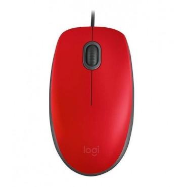 Мишка Logitech M110 Silent - red