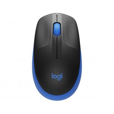 Мишка Logitech M190 Full-size wireless mouse - BLUE - 2.4GHZ - N/A - EMEA - M190