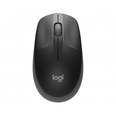 Мишка Logitech M190 Full-size Wireless Mouse - CHARCOAL - 2.4GHZ - N/A - EMEA - M190
