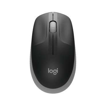 Мишка Logitech M190 Full-size wireless mouse - MID GREY - 2.4GHZ - N/A - EMEA - M190