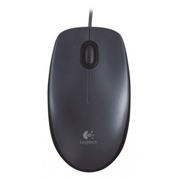 Мишка Logitech Mouse M90, Black