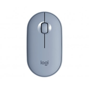 Мишка Logitech Pebble M350 Wireless Mouse - Blue Grey - EMEA