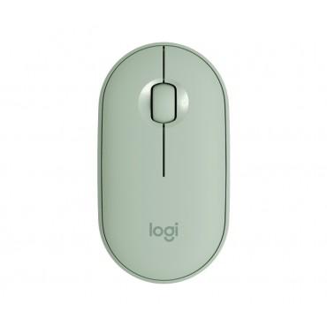 Мишка Logitech Pebble M350 Wireless Mouse - Eucalyptus - EMEA