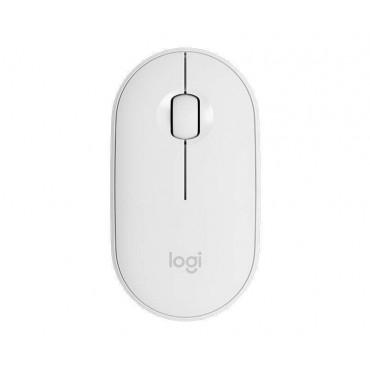 Мишка Logitech Pebble M350 Wireless Mouse - OFF-WHITE, White