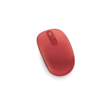 Мишка Microsoft Wireless Mobile Mouse 1850 USB Flame Red V2, Flame Red