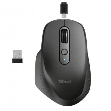 Мишка TRUST Ozaa Wireless Rechargeable Mouse Black