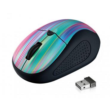 Мишка TRUST Primo Wireless Mouse - black rainbow