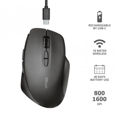 Мишка TRUST Themo Wireless Mouse