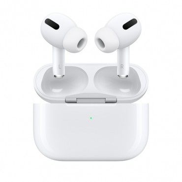 Слушалки Apple AirPods Pro with Wireless Charging Case, White