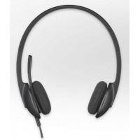 Слушалки Logitech USB Headset H340