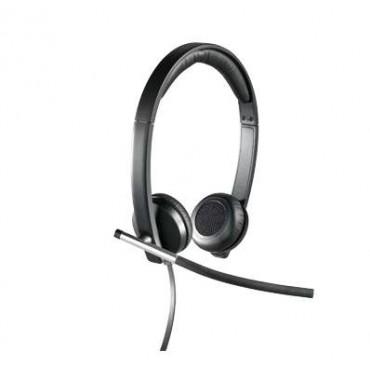 Слушалки Logitech USB Headset Stereo H650e - USB