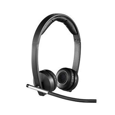 Слушалки Logitech Wireless Headset Dual H820e - USB