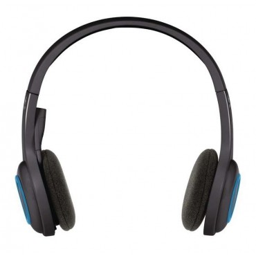 Слушалки Logitech Wireless Headset H600, Black/Blue