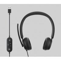 Слушалки Microsoft Modern USB Headset Black