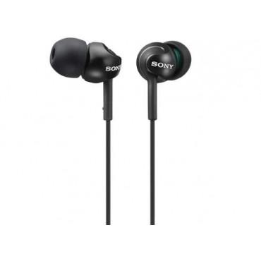 Слушалки Sony Headset MDR-EX110LP black, Black