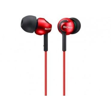 Слушалки Sony Headset MDR-EX110LP red