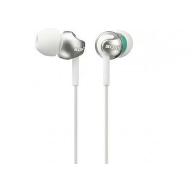 Слушалки Sony Headset MDR-EX110LP white, White