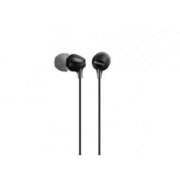 Слушалки Sony Headset MDR-EX15LP black, Black