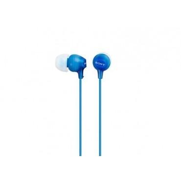 Слушалки Sony Headset MDR-EX15LP blue, Blue
