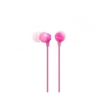 Слушалки Sony Headset MDR-EX15LP pink, Pink